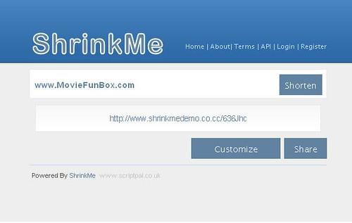 ShrinkMe Shorten Url Script » SCRiPTMAFiA ORG | Download