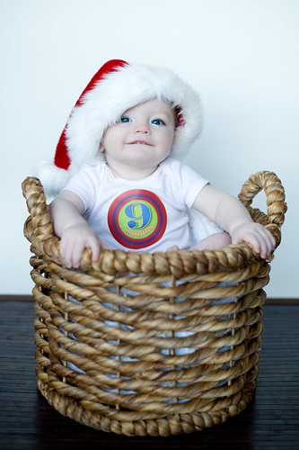 Noah's 9 Month Photoshoot 1
