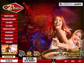 21nova flash casino