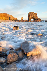 Heart Attack (Azzmataz) Tags: sea arch tide stack whitburn anthonyhallphotography