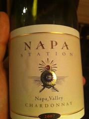 2007 Napa Station Chardonnay