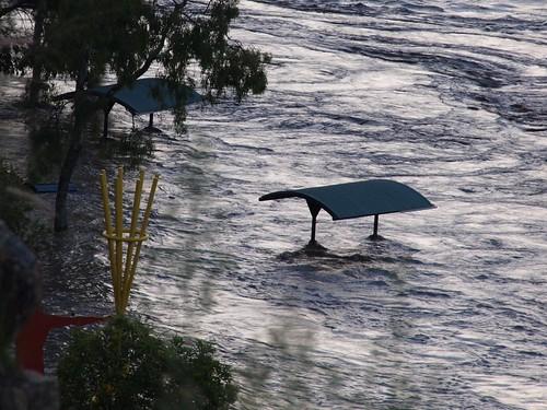 Kangaroo Pt Brisbane Floods Jan 2011