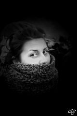 Marti (LaKry*) Tags: light portrait blackandwhite rome roma girl scarf grey blackwhite eyes grigio protest demonstration protesta occhi ritratto luce martina biancoenero sciarpa ragazza manifestazione