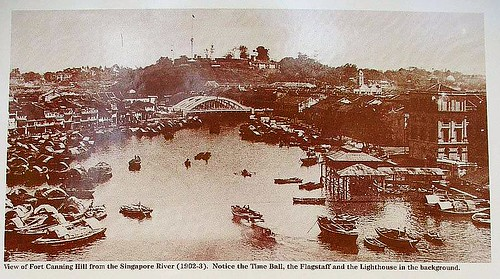 Fort Canning Hill, Circa 1902 by Aldwin Teo, on Wikipedia