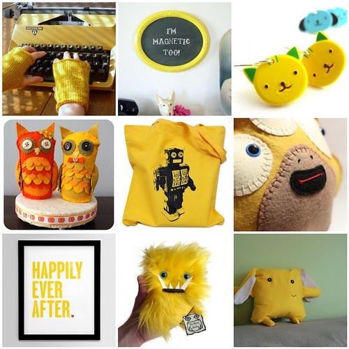 Etsy Picks - Yellow