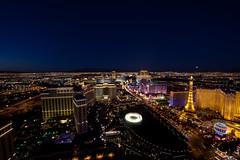 A Thousand Points of Las Vegas Light