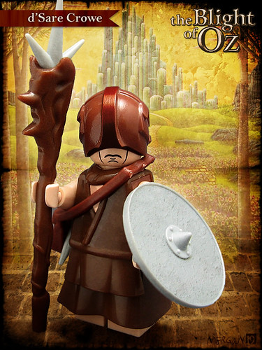 Custom minifig The Blight of Oz - d'Sare Crowe
