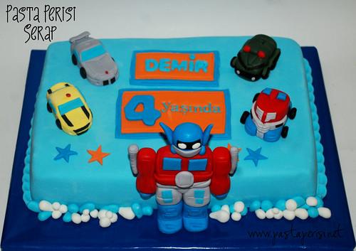transformers pastası