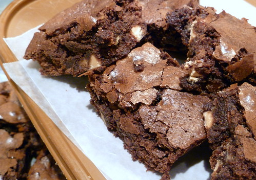 Peanut Butter and Milk Chocolate Chip Brownies
