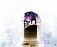 the gateway (Jus'fi) Tags: gateway italiangarden jusfi purpleinmind