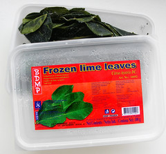 diepvries limoenblaadjes