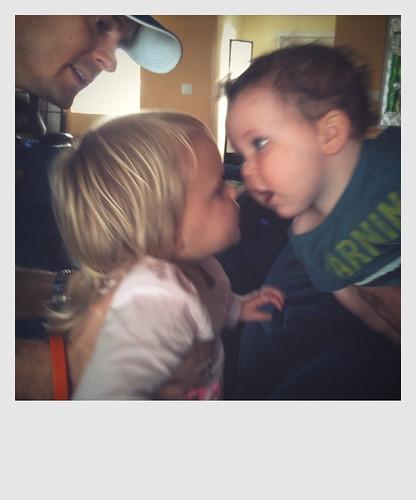 kissin cousins.