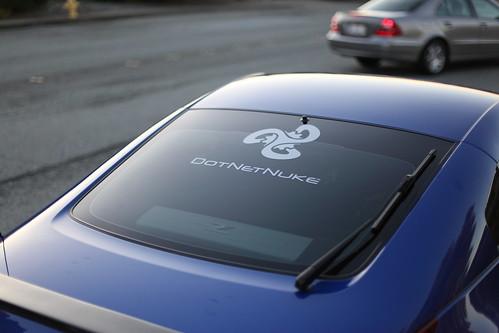 350z with DotNetNuke Logo