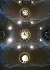 Antoni Gaudí, Sagrada Familia, Vault Lights
