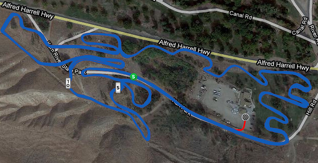 Norcal vs. Socal Cyclocross Course (GPS)