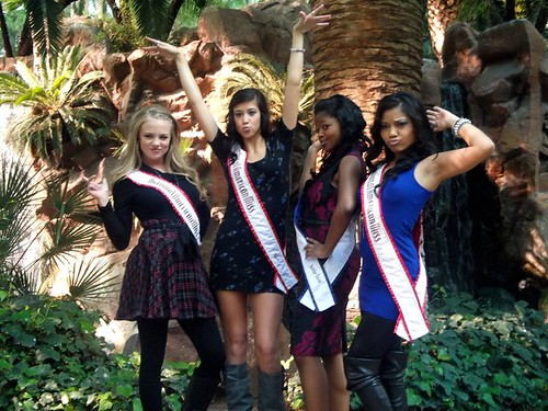National American Miss (NAM) Queens in Las Vegas for Miss America