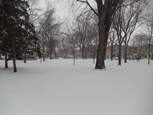 Commons Park Across from the library
