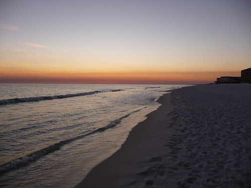 Twilight on Ft. Walton Beach