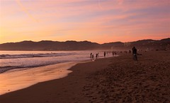 015/365 | Jan 15 | Santa Monica Beach (lcdoan2003) Tags: california sunset beach santamonica 365 project365 canonxsi mostly365 3652011 365the2011edition