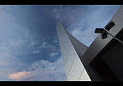 Shard tower, Imperial War Museum North. (Another in comments). Explored Frontpage (Ianmoran1970) Tags: light sky cloud abstract colour building tower museum architecture war north explore imperial frontpage iwmn iwm explored ianmoran north imperial ianmoran1970