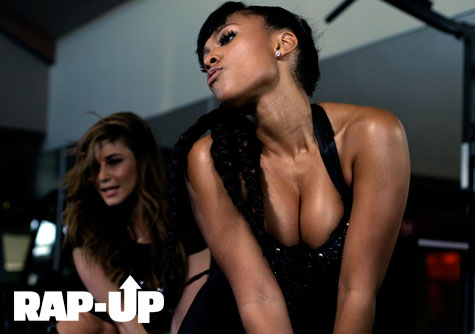 Teairra Mari Body Video shoot
