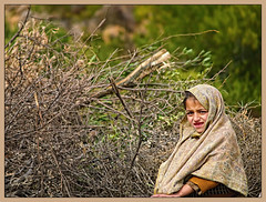 Faithful Expression (IshtiaQ Ahmed revival to Photography) Tags: tractor children village child expressions hike trolly islamabad margalla khanpur haripur golra ishtiaqahmed shahallahditta