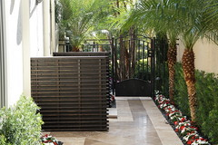 Formal Landscape Side Area (JCEnterpriseServices.com) Tags: flowers trees palms landscape design backyard colorful formal frontyard ideas southflorida sideyard