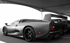 Jaguar XJ220S (agup627) Tags: auto uk arizona black color car tom grey mod angle flat unitedkingdom britain auction united tail low rear wheels gray wing twin craft kingdom 15 selection az racing jackson turbo 94 bj jag british scottsdale jaguar chassis 1994 custom modification rare supercar twinturbo barrett matte spoiler v6 specialty selective turbocharged 220 selectivecolor scc xj twr barrettjackson 784 flatblack xj220 customwheels matteblack 1of5 colorselection blackwheels walkinshaw modifed worldcars xj220s mattegrey tomwalkinshawracing xj220c specialtycarcraft chassis784