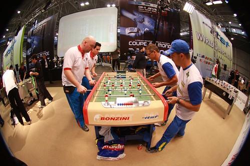 zone finale match double arrondie avec écran