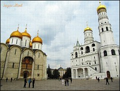 The Cathedral of the Dormition - Moscow (Sugar Mind) Tags: travel sky colors europe time russia moscow contemporaryart sugar cielo scenary mind 1001nights colori viaggio mosca architetture thecathedralofthedormition 1001nightsmagiccity mygearandmegold mygearandmeplatinum mygearandmediamond art2011