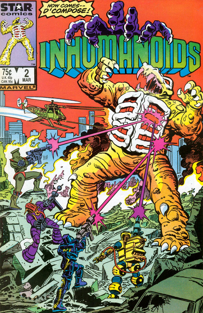 Inhumanoids - Issue 2 Cover