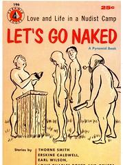 Nudists (S_Crews) Tags: postcard