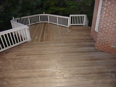 Gettysvue deck after