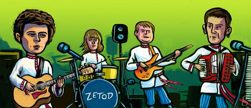 Zetod caricature (Unplugged) - illustration : Gilderic