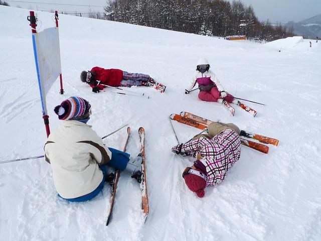 在雪地中累了怎麼辦?