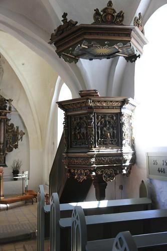 Jystrup kirke - pulpit 2014-04-15-1