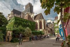 Eglise St Gervais, Paris (john.gillespie) Tags: lemaraismarais france summer francias tourists church cathedral vsco stgervais paris 2016 tourism september beautiful