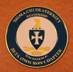 IMG_9326 Sigma Chi Beta Omicron Fri Sep 23 2016 Gateway Center Ames IA 100th Anniversary celebration special event leadership & excellence medallion (eddie.spaghetti) Tags: 100th 2016 alum alumni amesiowa anniversary betaomicron celebration classmate classmates iowa medallion photobyed photobyedhendricksonjr sigmachi event banquet friday 2016sep