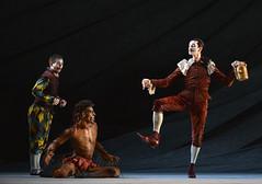 James Barton, Tyrone Singleton, Valentin Olovyannikov (DanceTabs) Tags: dance ballet brb birminghamroyalballet dancers classocalballet shakespeare