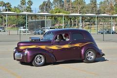 52nd Annual LA Roadsters Show (USautos98) Tags: 1941 willys hotrod streetrod custom flames