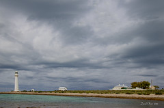 Pt Lowly Lighthouse & Cottages (David_Oliver) Tags: whyalla storm ptlowly lighthouse