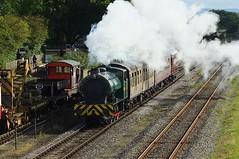 Bags of Smoke (crashcalloway) Tags: hunsletausterity 060st steam locomotive engine smoke train railways ncb buckinghamshirerailwaycentre buckinghamshire quaintonroad quainton railwaymuseum