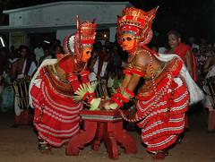 Theyyam 4 (Anoop Negi) Tags: theyyam kerala india kannur dancers gods performers hinduism trance photo photography anoop negi ezee123