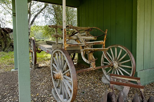 Farm Equipment in Sunol Regional Wilderness