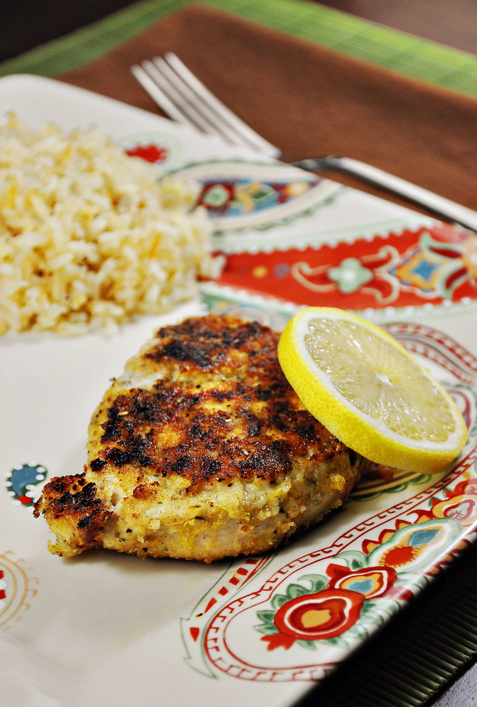 Garlic and Lemon Pan Fried Chicken