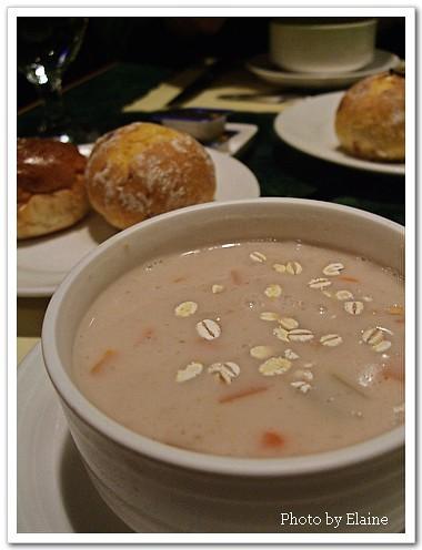 燕麥蔬菜湯