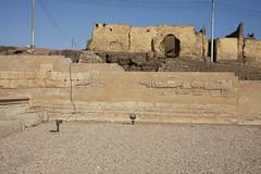 Templo De Seti I en Abidos , Abydos: Primer patio- Muro circundante. (Soloegipto) Tags: egypt luxor ramsesii abydos setii salahipostila abidos sethii ummelqaab primerpatio templodesethi