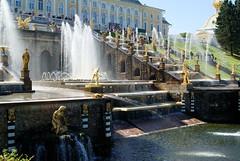 *** (AlennGold) Tags: sculpture water fountain beautiful russia saintpetersburg splash peterhof petergof