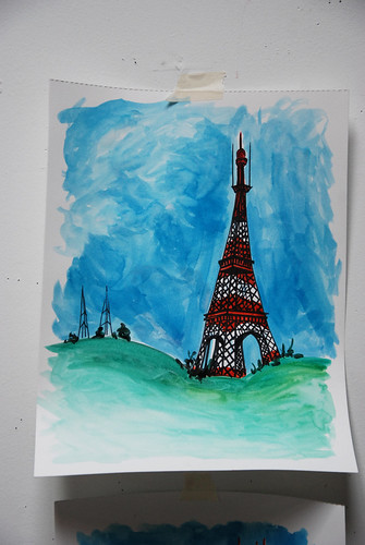 if the Sutro Tower was in Paris