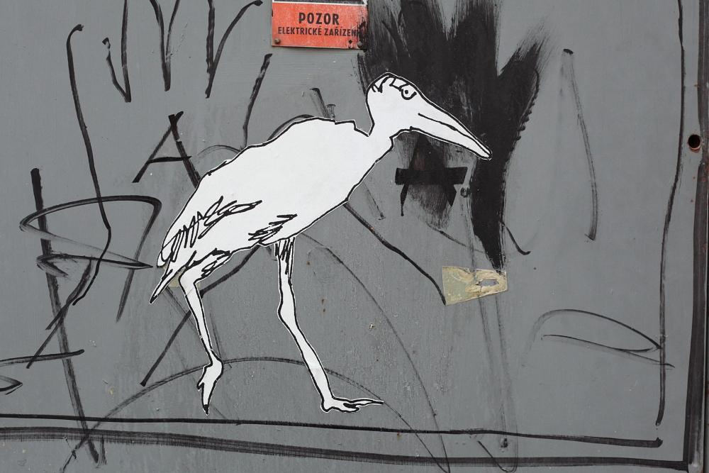 street art in Český Krumlov 10